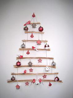 creatief met takken Winter Christmas, Xmas, Scandinavian Home, Fall Diy, Nativity, Beautiful Pictures, Recycling, Diy Crafts, Display