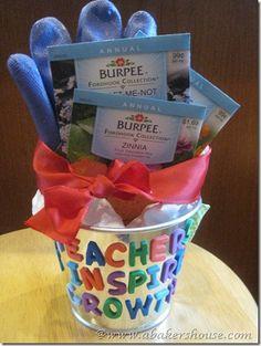 Teachers Inspire Growth- gardening gift