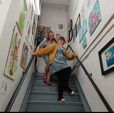 Ashford Snowdog Artists launch an exhibition in the Stare Well Gallery – Made in Ashford Pictures On Stairs, Hanging Pictures, Dog Artist, Giant Dogs, Product Launch, Artists, Gallery, How To Make, Roof Rack