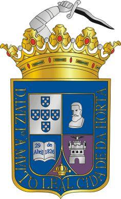 Brasões de Concelhos portugueses - Horta