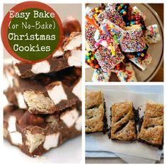 10 Easy-Bake (or No-Bake) Christmas Cookies