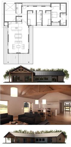 Mirror image on the left for parents.  Add outdoor living space to areas in the front. Floor Plan