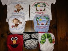 Nappies and t-shirts