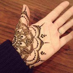 Love this pattern however henna on palms seems to fade away faster due to everyday washing of hands :( More