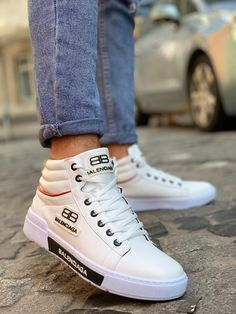 Men Collection – PARIHIL COLLECTIONS Lv Sneakers, Casual Sneakers, Sneakers Fashion, Versace Boots, Versace Men, Burberry Men, Gucci Men, Gucci Handbags Outlet, White Balenciaga
