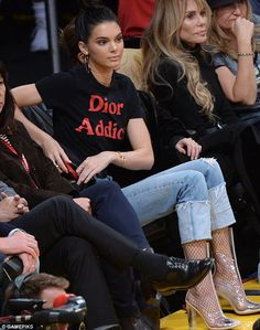 Kendall Jenner watches her rumoured lover Jordan Clarkson's LA Lakers #dailymail