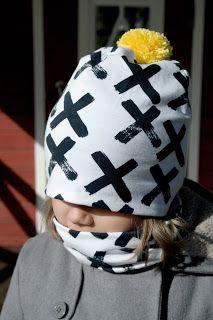 Springhat and -scarf for my girl  kaksneljaseitteman.blogspot.fi