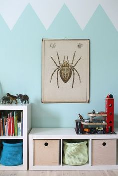 mommo design: ON THE WALL - geometric painting