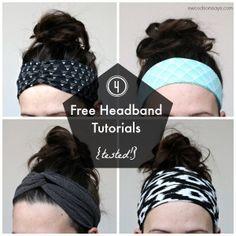 4 Free Headband Tutorials – Tested