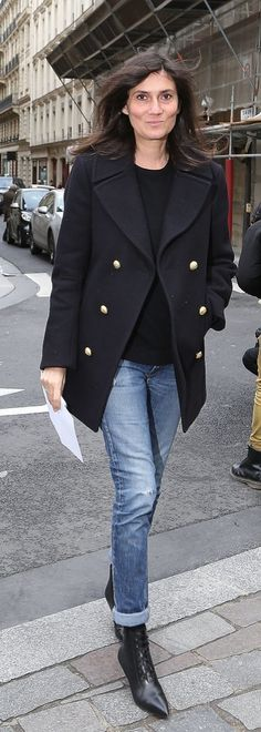 Emmanuelle Alt is the definition of Parisian chic