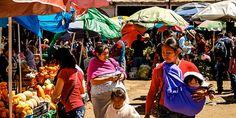 Markt in San Cristobal, Mexiko © Isabella Falter #Mittelamerika Panama, Central America, Caribbean, Mexico, Panama Hat, Panama City