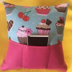 Handmade pillow with 3 pockets ideal for tv control Handmade Pillows, Diaper Bag, Pocket, Bags, Handbags, Diaper Bags, Mothers Bag, Handmade Cushions, Bag