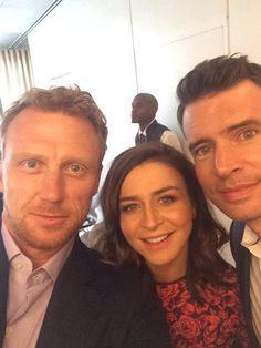 Caterina, Kevin, and Scott