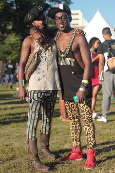 AFROPUNK Festival - Funky Fashions 2 - Aagdolla Fotografie - @ aagdolla… - Black is Beautiful - Afro Punk Fashion, Androgynous Fashion, Funky Fashion, Mens Fashion, Festival Mode, Festival Looks, Concert Dresses, Eccentric Style, Hipster Looks
