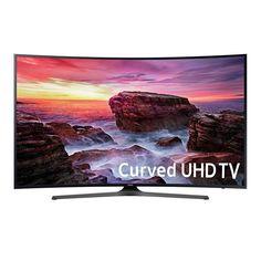 """US-Deals TV Samsung 55"""" Class 4K Ultra HD Curved HDR Smart TV - UN55MU6490F: $749.95 End Date: Thursday Feb-15-2018 13:40:55 PST…%#USDeals%"""
