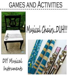 Life is Pichey: Music Themed Birthday Party....ooooh....I've got tons of little bells in my craft closet. I could totally make some little shakers.