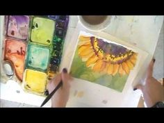 6 Ways to Improve Your Watercolor Paintings: What NOT to do ~ Angela Fehr Watercolor Video, Watercolour Tutorials, Watercolor Techniques, Painting Techniques, Watercolour Painting, Painting & Drawing, Watercolor Pencils, Painting Lessons, Art Lessons