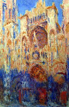Monet- Rouen Cathedral