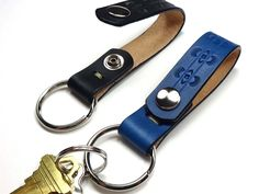 Belt Loop Key Fobs by A. B. Newell.