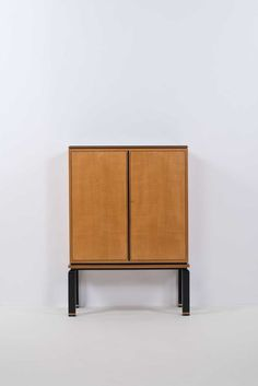 Axel Einar Hjorth; Sycamore, Rosewood and Ivory Cabinet for Nordiska, 1934.