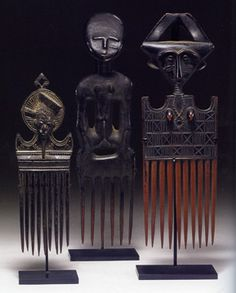 The William W. Brill Collection of African Art: Combs African Masks, African Art, Art Black Love, Art Pulp Fiction, Skottie Young, Robert Mcginnis, Afro Comb, Art Afro, Safari Decorations
