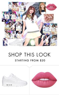 """""""Fazhion"""" by dejaskye ❤ liked on Polyvore featuring NIKE and Lime Crime"""