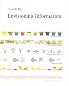 Envisioning Information by Edward R. Tufte Recommended by Pat Dugan