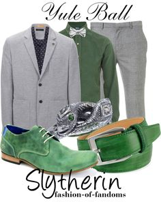 """""""Slytherin"""" by waveyourwands97 ❤ liked on Polyvore"""