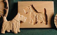 American Artisan Gene Wilson's hand carved Scottish shortbread mold