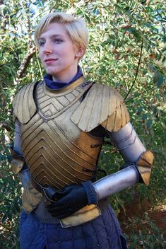 Brienne Of Tarth, Game Of Thrones Cosplay By Insanity And Impossible Things – Original Photo Submitted By Insanity And Impossible Things