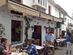 Time for wine and tapas in Mijas, Málaga
