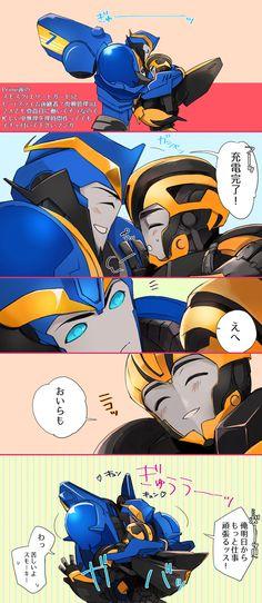 ♡ Smokescreen+Bumblebee
