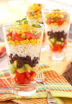 Fiesta Layered Salad