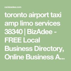 Toronto Airport Taxi & Limo Services provides luxury Airport Limo and Taxi Service To and From Toronto Pearson Airport. We also provide Airport Shuttle and Airport Transportation services. Airport Transportation, Transportation Services, Toronto Airport, Airport Shuttle, Limo, Online Business, Advertising, Free, Commercial Music