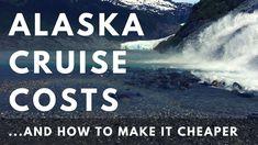 Ever wonder how much an Alaska cruise costs? See the total costs for an Alaska cruise vacation! #travel #cruise #alaska