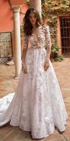 Elegant Wedding Dress Pinterest