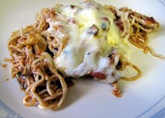 Escape from Obesity: Low Carb Shirataki Noodle Bake Recipe