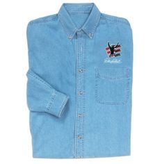 Dale Earnhardt Long Sleeve Denim Shirt | Raceline Direct