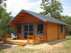 Getaway Cabin kit. Has 3 rooms, and a loft for $17,000. So cool, could totally…