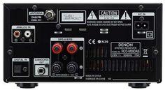 Denon DM39DAB Mini System Jacks