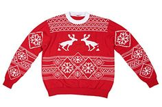 FunQi Gifts Men's Pooping Moose Ugly Christmas Sweater X-Large Red FunQi Gifts http://www.amazon.com/dp/B00NVRAWB6/ref=cm_sw_r_pi_dp_9dxzub01KBYAT