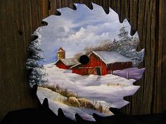Winter Barn Round Blade - 7-8"