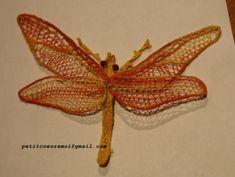 DENTELLE A L'AIGUILLE - libellule suite et fin