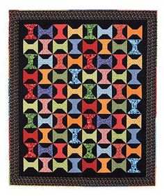 Wooden Spools Quilt Pattern Download from ConnectingThreads.com Quilting    by Mari Martin