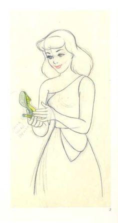 Cinderella Concept Sketch