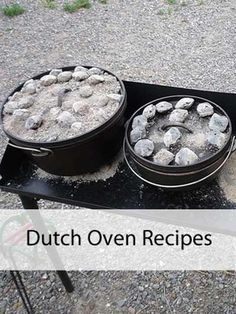 Love this great list of dutch oven recipes from @MomPrepares!