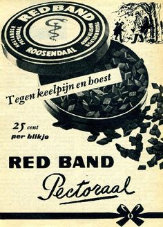 oude reclame red band Vintage Advertising Posters, Old Advertisements, Advertising Signs, Vintage Ads, Vintage Posters, Sweet Memories, Childhood Memories, Old Commercials, Art Deco Posters