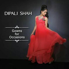 Beautiful # cocktail gowns#dipalishahlabel#
