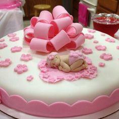 Handmade Babyshower Cake