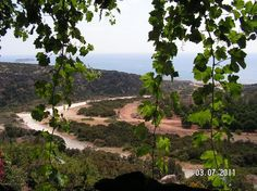 Viklari (The Last Castle) Peyia: View from a delicious pork souvla lunch